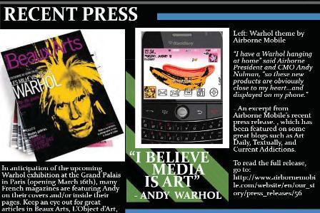 Andy on Warhol