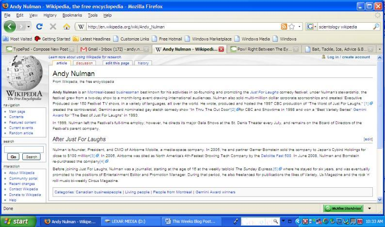Wiki Entry