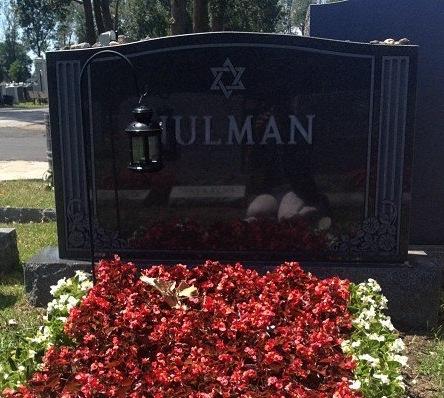 Nulman Headstone